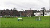 NT2273 : Grass pitch, The Mary Erskine School by Richard Webb