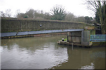 TQ1579 : River Brent, Hanwell by Stephen McKay