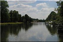 SP5105 : Oxford: the Thames below Folly Bridge by Christopher Hilton