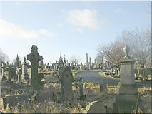 SE1734 : Undercliffe Cemetery - Otley Road by Betty Longbottom