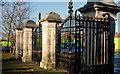 J3573 : Side gate, Ormeau Park, Belfast by Albert Bridge
