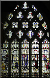 SK7368 : St Mary, Egmanton - Stained glass window by John Salmon