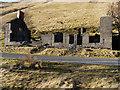 SN7974 : The barracks, Cwm Ystwyth by Nigel Brown