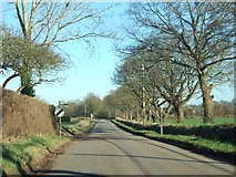 SX9896 : The eastern edge of Broadclyst and Dog Village by David Smith