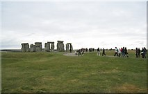 SU1242 : Another grey day at Stonehenge by Given Up