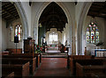 TL4538 : Holy Trinity, Chrishall, Essex - East end by John Salmon