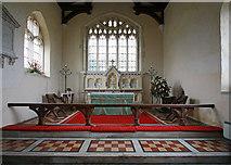 TL4538 : Holy Trinity, Chrishall, Essex - Sanctuary by John Salmon