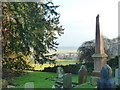 ST4492 : St Mary's churchyard, Llanfair Discoed by Ruth Sharville