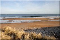 NU2422 : The beach at Embleton Bay by Walter Baxter