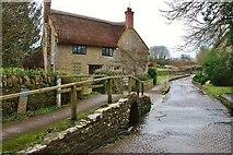 ST5707 : Melbury Osmond:  Ford in Holt Lane by Eugene Birchall
