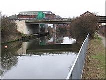 SK4293 : Rotherham - Centenary Way bridge. by Dave Bevis