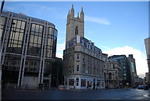 TQ3281 : Church Tower, Church of St Mary Aldermary by N Chadwick