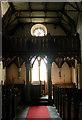 SJ2322 : St Michael the Archangel, Llanyblodwel - Interior by John Salmon