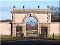 SE2869 : East Gate, Studley Royal by Gordon Hatton