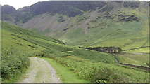 NY1914 : Track Southeast of Buttermere, Cumbria by John Fielding