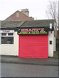 SE1735 : Khany'z Takeaway - Undercliffe Road by Betty Longbottom