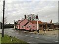 TG3112 : Brick Kilns public house undergoing  repairs by Adrian S Pye