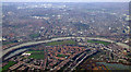 TQ2277 : Barnes and Hammersmith from the air by Thomas Nugent