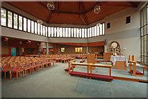 TQ3370 : Christ Church, Gipsy Hill - Interior by John Salmon