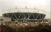 TQ3783 : Olympic stadium, January 2011 by Derek Harper
