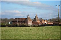 TQ8440 : Oast Houses at Lashenden Farm, Headcorn Road, Biddenden, Kent by Oast House Archive