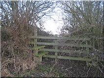 SK8166 : Stile near Girton by Jonathan Thacker