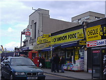 TQ1885 : Wembley Central station and shops by David Howard