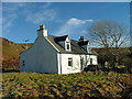 NG4163 : Croft house in Peinchonnich by Dave Fergusson