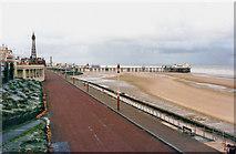 SD3036 : North Pier by P L Chadwick