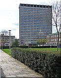 TQ3265 : St George's House, Park Lane (2) by Stephen Richards