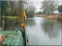 SU7451 : Basingstoke Canal at Colt Hill Bridge by Graham Horn