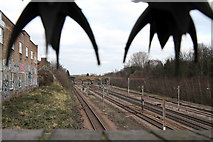 TQ3187 : London to York Railway Line by Martin Addison