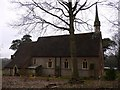 TQ0241 : Grafham church from the north west by Shazz