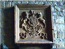 SD5871 : Coat of arms for Queen Victoria, St John the Baptist, Arkholme by Karl and Ali