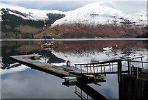 NN0958 : Sailing club, Glencoe by Alan Reid