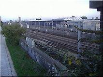 TQ2282 : Railway lines east of Scrubs Lane by David Howard