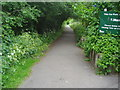 TQ1684 : Entrance to Horsenden Hill park from car park by David Howard