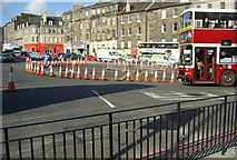 NT2674 : Edinburgh Roadworks by John MacKenzie