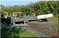 SO9768 : Tardebigge Lock No 40, Worcestershire by Roger  Kidd