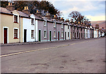 SC4384 : Mines Road, Laxey by David Dixon