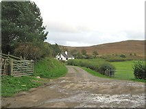 NX6060 : Access track from Laghead by Ann Cook