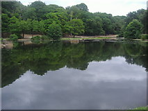 TQ2272 : Queen's Mere, Wimbledon Common by David Howard