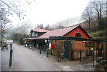 SO4494 : National Trust Centre, Carding Mill Valley by N Chadwick