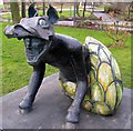 NZ3767 : Statue in South Marine Park, South Shields by Carol Bleasdale