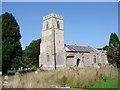 TG0635 : Hunworth St Lawrence's church by Adrian S Pye