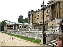 TQ2879 : Buckingham Palace rear by Peter Neal