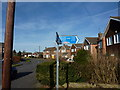 SK3135 : Cycle Routes, Onslow Road by Peter Barr
