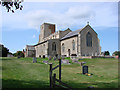 TG0043 : Morston All Saints' church by Adrian S Pye