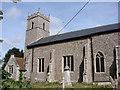 TG0436 : Thornage All Saints' church by Adrian S Pye