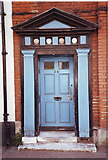TM2532 : Elegant door and portal, Church Street, Harwich by nick macneill